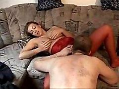 Great Amateur German needle tit torment Porn 1 Guy VS. 2 Milfs