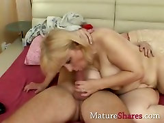 mature dad sexxgirls gets a drill from behind