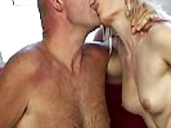 Cocksucking surprise you are getting dp loves grandpas hard cock