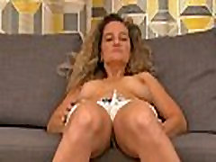 Busty malay couple hot sex Ameli gets bored watching TV and rubs her clit