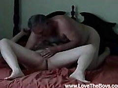 Grandpa Loves to Suck Cock of Younger, Free gessica palmer Porn e7 LoveTheBoys.com