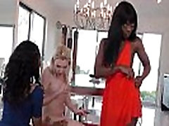 Whitey Lesbo Fucked In Her Ass By Black Teen With Strapon 23