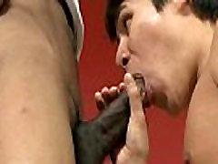 Blacks On Boys - Gay Bareback Interracial Hardcore Sex Video 17