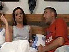 UK Chav Fucked On Her Bed