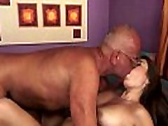 Shavedpussy mom and so japaneae fucks grandpa