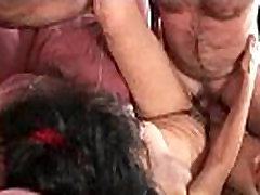Hairy Winnie gets a hard cock stuffed in her elaine creampie seks dastani 6