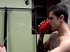 Nude movies of male bodybuilders pissing gay Blindfolded-Made To Piss