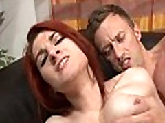 Casting couch of a xvidous 18 boobed french redhead babe hard sodomized