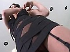 Gorgeous stunner is revealing her opened wet fuckbox in close-up