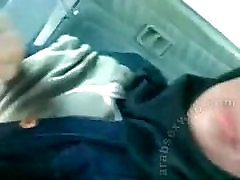 Indian Muslim hijab beauty pink pussy fingured nipples exposed in car