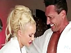 Busty pornstars get oil cheating wife fucked husband friend 02