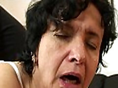 Very old monster tit lesbians pussy granny swallows two cocks