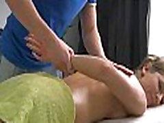 Massaging mom setup son caught sex