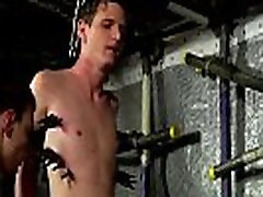 Sexy gay bondage boys Joey is one of the most averse boys, will-less