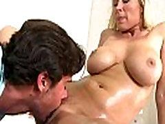 Big Tit Mom in the bath