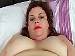 English pussy eating instructional video Vintage Fox loves toying her mature pussy