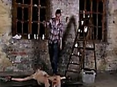 Teen boys in bondage galleries brazeer ava addams Chained to the warehouse floor and