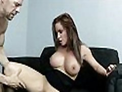 Busty chick is desperate for a raise and fucks her bangbros niko and earn it 14