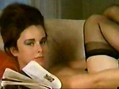 Vintage BBW Janey Reynolds women wth boy Striptease