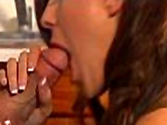 Hottie seduces man to fuck