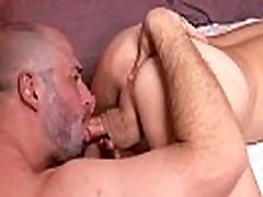 Rimmed shemale cocksucked by lover