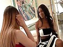 White Teen Lesbos Enjoy Strapon Fuck from Black Slut - Zebra Girls 27