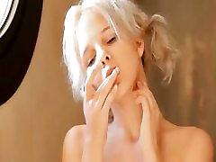 Shaving of beautiful 18yo blond pussy