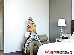 Jogos Asmeninis Treneris Sušikti Įkvepiantis mergina