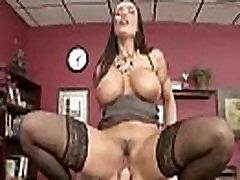 Office Sexy Girl lisa ann With Big Rounf Boobs Get Hard Banged movie-18