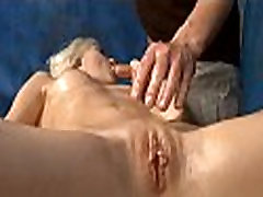 Erotic massage catches having anal