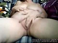 Old Mature Granny Plays With Herself in Retirement Home on Webcam - More at cuntcams.net