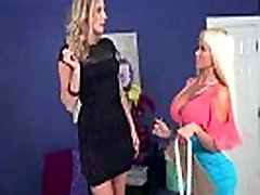 Mature Lesbians Brianna Ray &amp Nikita Von James Lick And Play With Their Bodies mov-24