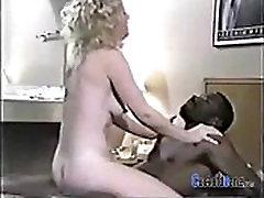 Retro cuckold wife with two BBCs CuckoldBang.com