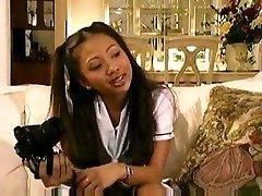 Asian schoolgirl Jade Marcella