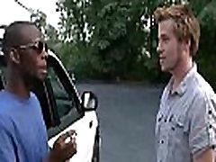 Blacks On Boys - Interracial Hardcore Gay Porn Movie 22