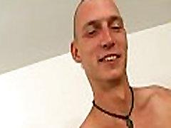 Lubricous blowjob for gay boy