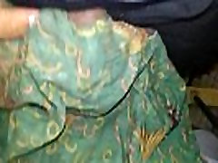 again cum on grandmothers cummed dirty old lungi in toilet-20160520