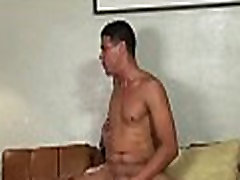 Gay gets anal filled with rod