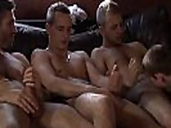 Asian american gay 30 minout videos Poor James Takes An Onslaught Of Cock!