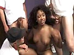Ebony boy fucking pregnant woboydy hard fuck in interracial group 19