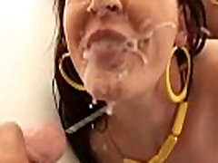 Big Tit hidden cam old married porn Dee Gets a CumBath Facial