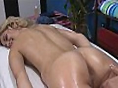Massage girl touch flash tubes