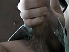 Wazoo of a gay impaled on rod