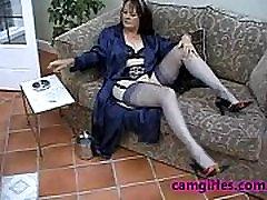 Suzie sexy big tit boobs Solo Stockings Free Masturbation Porn Video