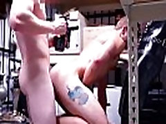 Brothers gay locker room sex first time Dungeon sir with a gimp
