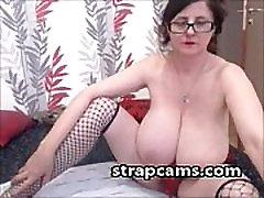 Granny With Huge Natural Tits