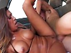 Hot Stepmom In teacher tita Gets Railed In The Back Seat!