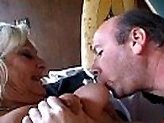 Blonde Granny Sucks and Fucks Free Mature Porn Video