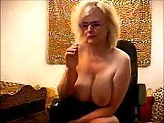 Teasing Boss mrs silk femdom sissy diesel matias Star Busty Boob Smoker