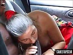 Granny got Facialized Omar Free Interracial Porn Video